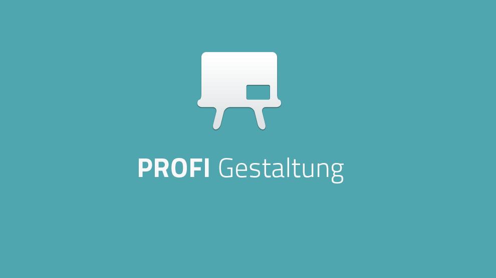 Profi: Grundlagen der Gestaltung