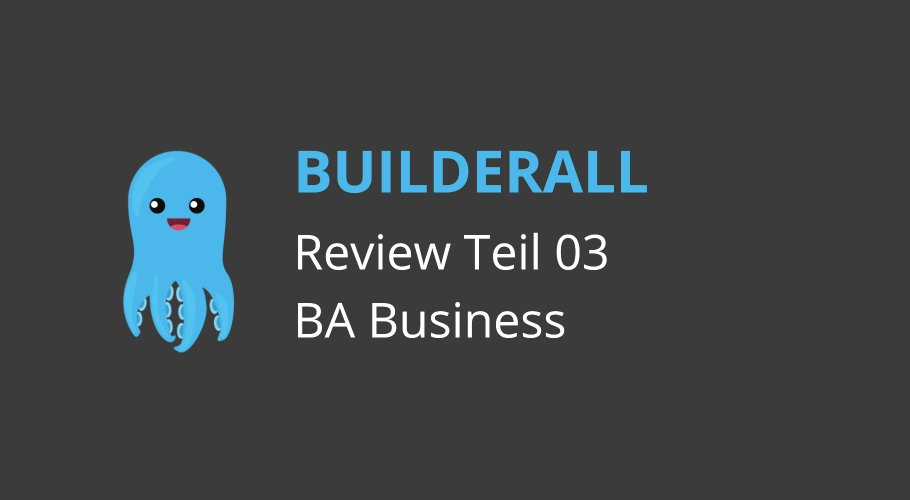 Builderall Review (03): Geld verdienen mit Builderall Business.